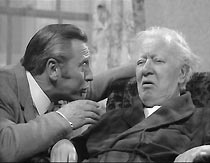Ben Osborne (William Lucas) tries to coerce Mr Jackson (Richard Bird) into testifying on behalf of his son.