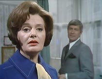 Bad penny: Helen Mortimer (Pauline Delaney) and her estranged husband Denis (Philip Brack).