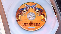 "The dinky ""Last Pistolero"" disc, a bonus disc in Blue Underground's limited edition edition of ""Django"""