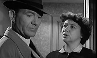 John Mills as Superintendent Graham and Megs Jenkins as Mrs Phillips.