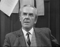 """Dad's Army"" star John Le Mesurier in the second episode of ""Two in Clover""."