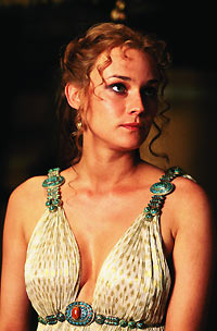 Diane Kruger as Helen of Troy.