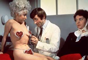 """Carry On Again, Doctor"" - Barbara Windsor, Jim Dale and Hattie Jacques"