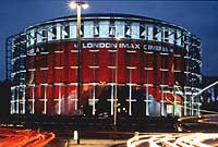 The bfi London IMAX cinema, near Waterloo station.