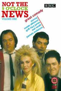 Not The Nine O'Clock News - the series that made stars of Mel Smith, Griff Rhys Jones, Rowan Atkinson...and Baywatch's Pamela Anderson..?!?!